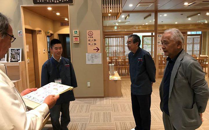 こんにちは!無事に湖南学園の生徒さんの職業体験が終了いたしました。